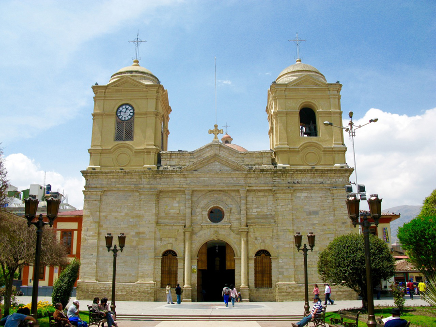 The Cathedral of Huancayo. Photo: Stefanie Graeter