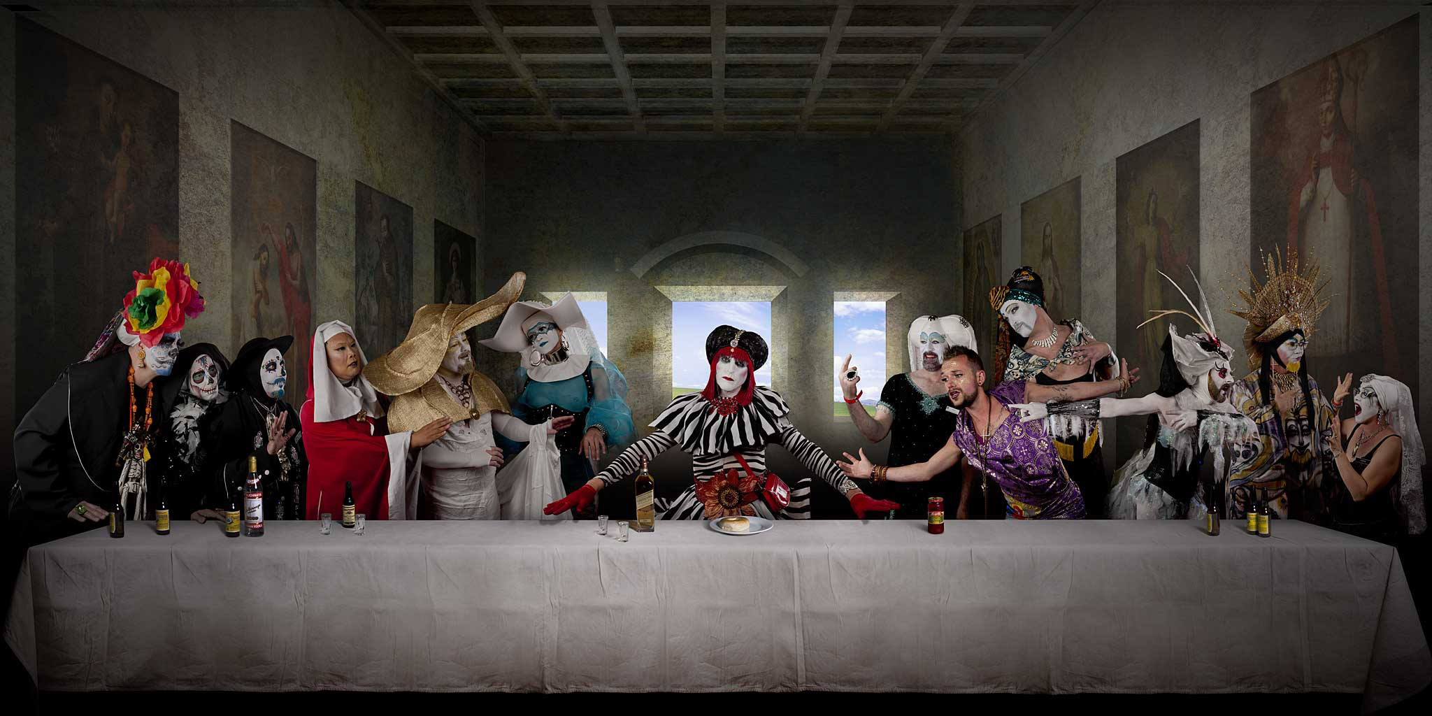 The Last Supper by Max Koo; Courtesy of the artist
