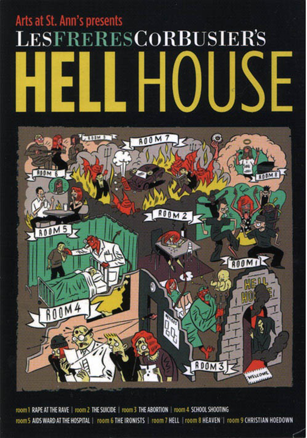 Les Freres Corbusier's Hell House
