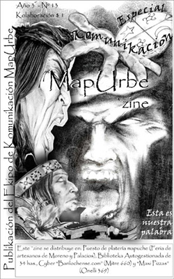 Cover of MapUrbe'zine, year 3, number 13.