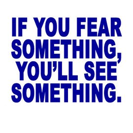 If You Fear Something, You'll See Something (2004)