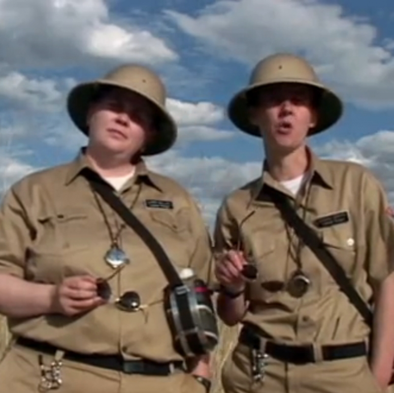 Lesbian National Parks and Services: A Force of Nature (1997)