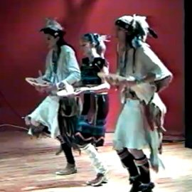 Jones Benally Family: Navajo Dancing